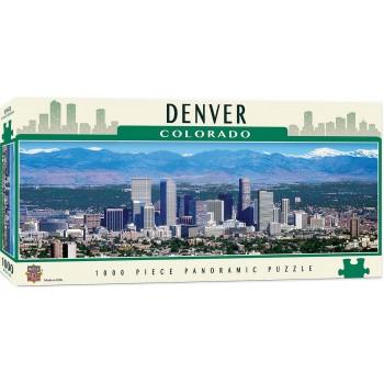 Панорамен пъзел Master Pieces от 1000 части - Денвър, Колорадо