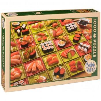 Пъзел Cobble Hill от 1000 части - Суши, суши, суши