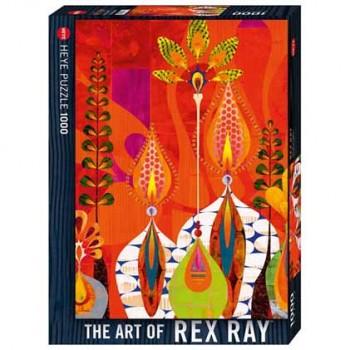 Пъзел Heye от 1000 части - Живи свещи, Рекс Рей