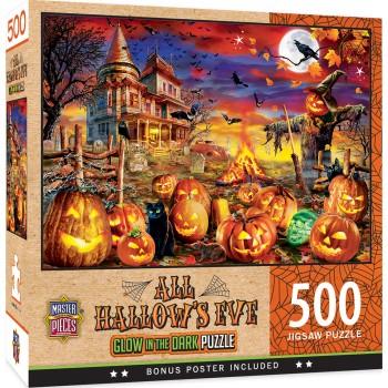 Пъзел Master Pieces от 500 части - Навечерието на Хелоуин