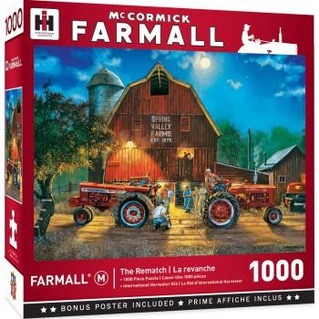Пъзел Master Pieces от 1000 части - Състезание с трактори