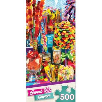 Пъзел Master Pieces от 500 части - Царството на бонбоните
