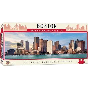 Панорамен пъзел Master Pieces от 1000 части - Бостън, Масачузетс