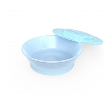 Купа за хранене Twistshake 6+ месеца синя