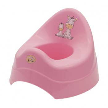 Детско гърне - Зебра розово