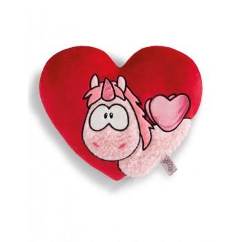 Възглавница сърце с Еднорогът Theodor