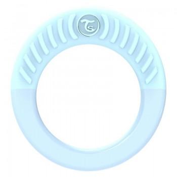 Бебешка чесалка Twistshake - кръгла синя