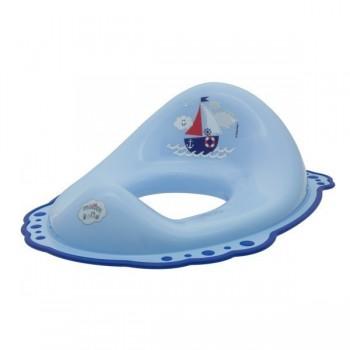 Детска седалка за тоалетна чиния Ocean & Sea синя