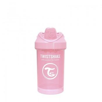 Преходна чаша Twistshake 300 мл 8+ месеца розова