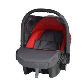 Кошче за бебета за кола Baby Merc Junior Twist графит и червено