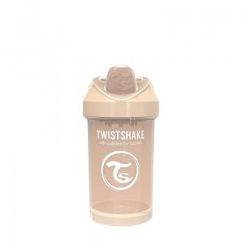 Преходна чаша Twistshake 300 мл 8+ месеца бежова