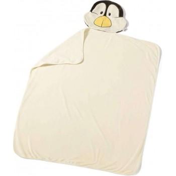 Детско плюшено одеяло - Пингвин