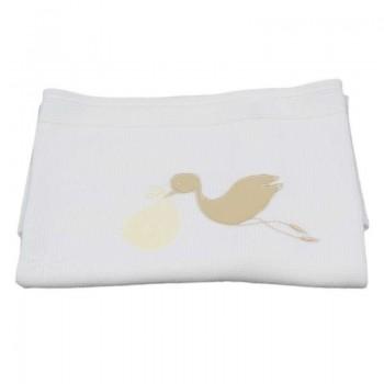 Бебешко одеяло - щъркелче