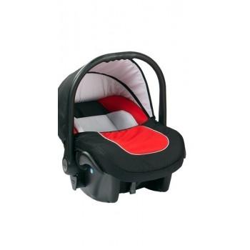 Бебешко кошче за кола 3-9 кг, Baby Merc Leo черно и червено