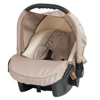 Бебешко кошче за кола Baby Merc Zipy - Кремаво
