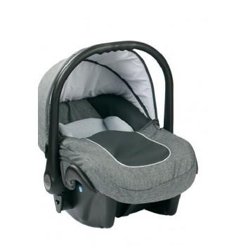 Бебешко кошче за кола 3-9 кг, Baby Merc Leo сиво