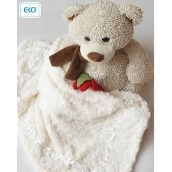 Плюшено одеяло за бебета на розички