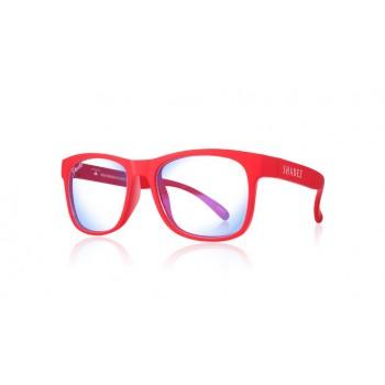 Детски очила за работа с компютър Shadez Blue Light 7+ години червени