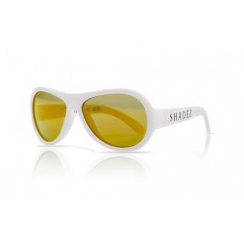 Детски слънчеви очила Shadez Classics от 3 - 7 години бели