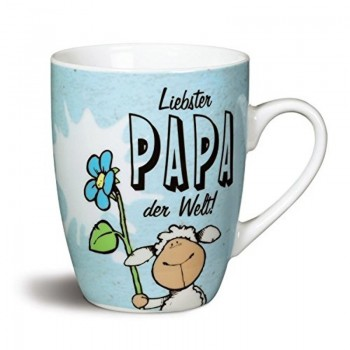 """Порцеланова чаша с надпис """"Liebster PAPA der Welt!"""""""