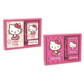 Подаръчен комплект - Дневник Hello Kitty