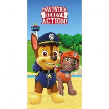 Детска плажна кърпа - Paw Patrol
