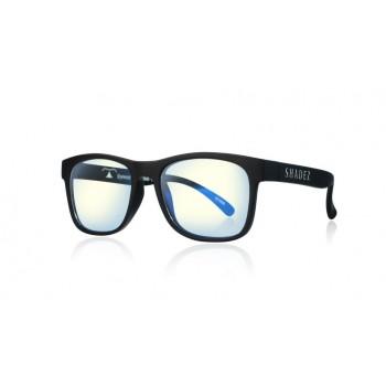 Детски очила за работа с компютър Shadez Blue Light 7+ години черни