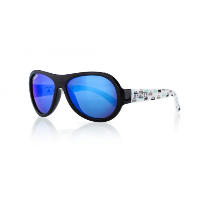 Детски слънчеви очила Shadez Designers Car Print 7+ години